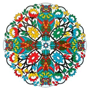 Russian Ludo. 9.7in x 9.7in. ₹2,250. Click to buy.
