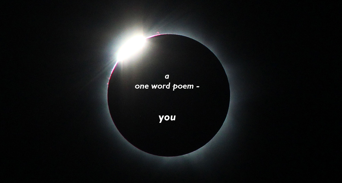 one word poem