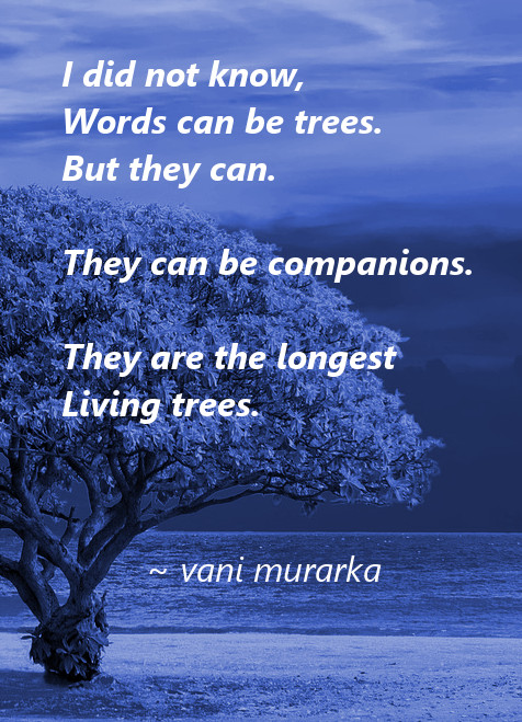 words can be trees