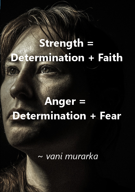 Strength vs Anger